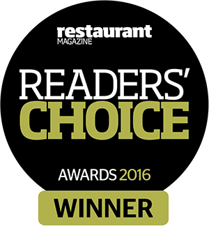 RESTAURANT MAGAZINE LOGO - WINNERS 2016